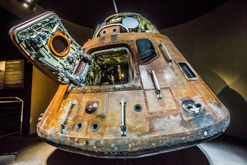 Apollo 11 Capsule royalty-vrije stock foto's
