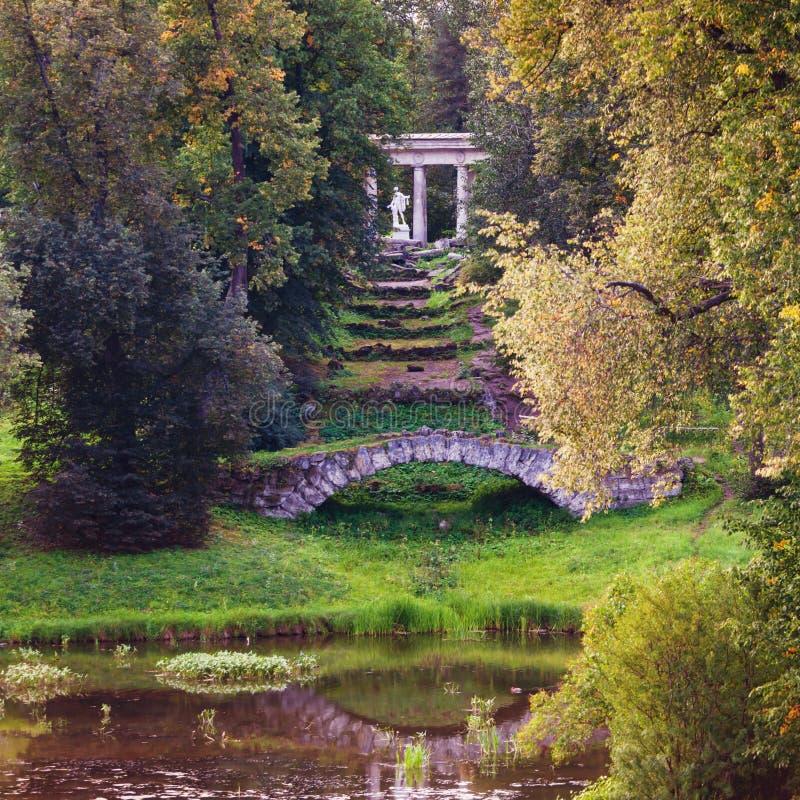 Apollo Colonnade pavilion stock photos
