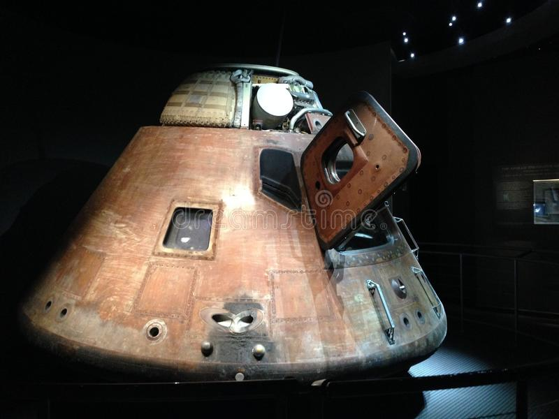 Apollo 14 Command Module stock image
