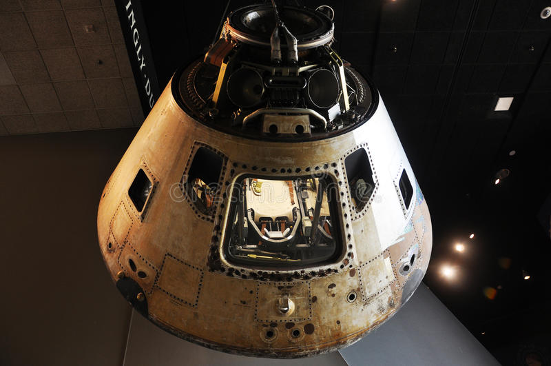 Apollo Command Module Skylab 4 stock photos