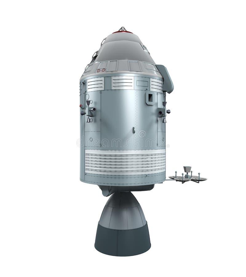Apollo Command Service Module royalty-vrije illustratie