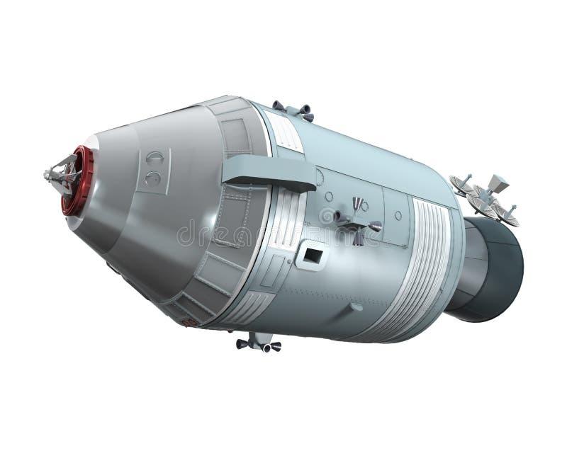 Apollo Command Service Module stock illustratie