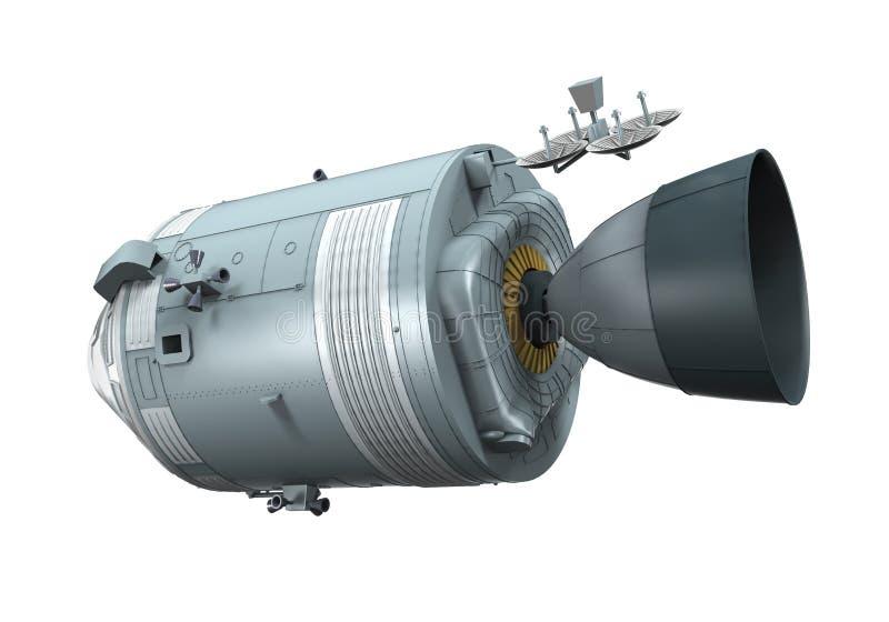 Apollo Command Service Module vector illustratie