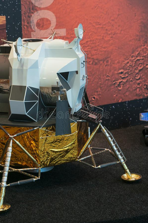 Apollo Lunar Module Model photo stock