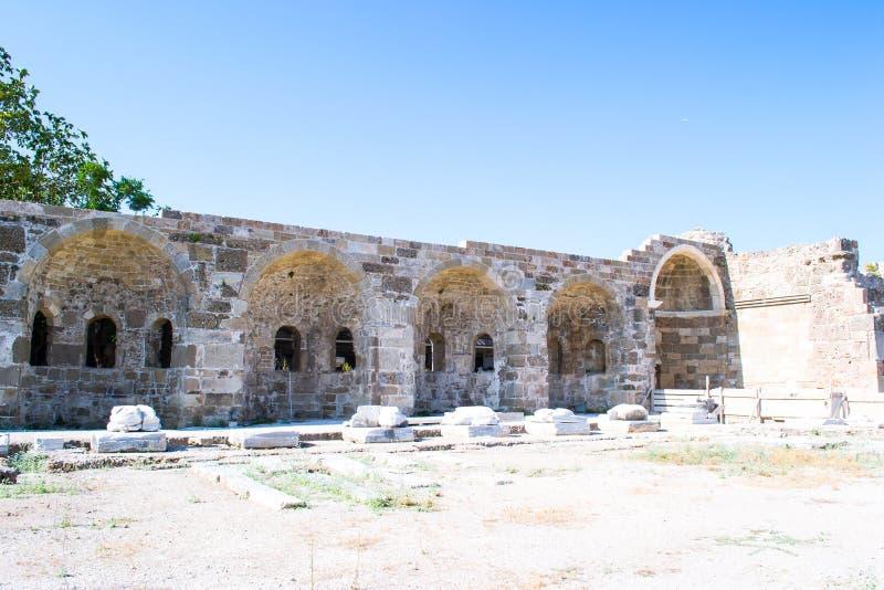 2 apollo s tempel kalkon Sidostad royaltyfri fotografi