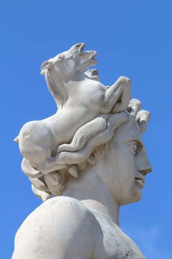 Apollo, Sun Fountain Statue, Place Massena, Nice, France Stock Image ...