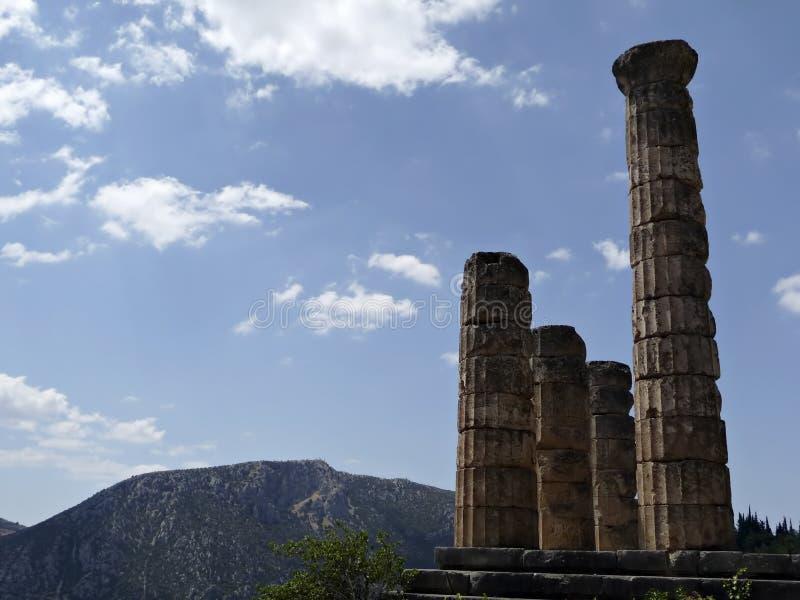 Apollo-Tempel lizenzfreie stockfotos