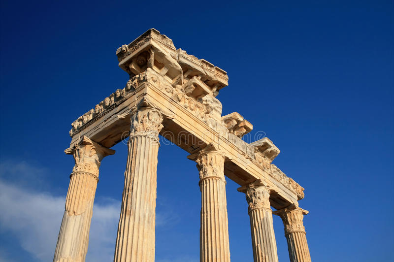 Download Apollo Temple stock image. Image of greece, famous, destinations - 13021549