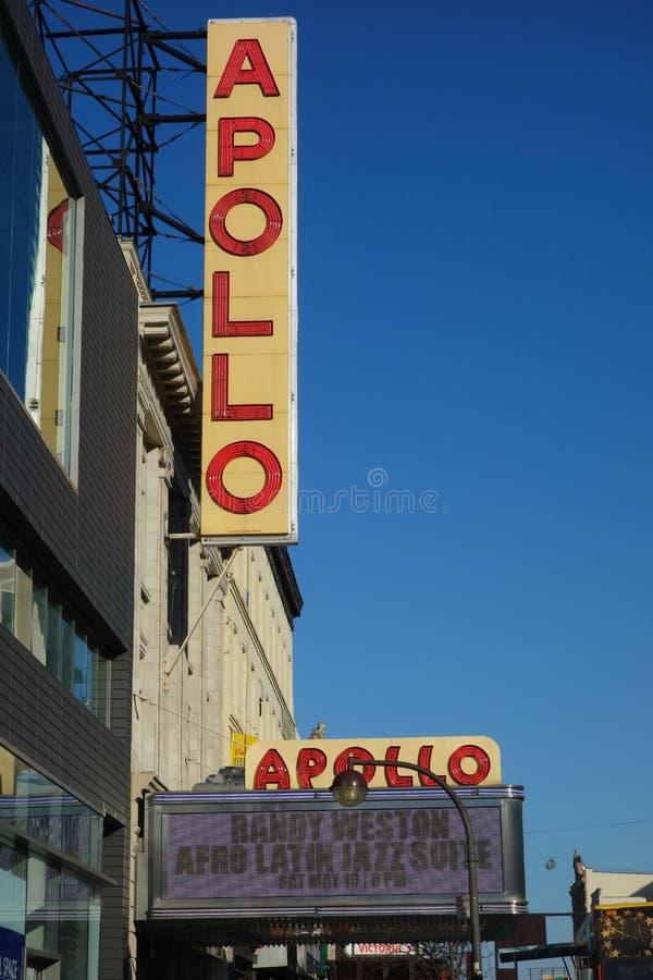 Apollo Theater fotografia de stock royalty free