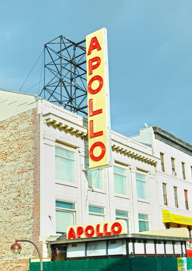 Apollo-Theater Harlem lizenzfreie stockfotografie