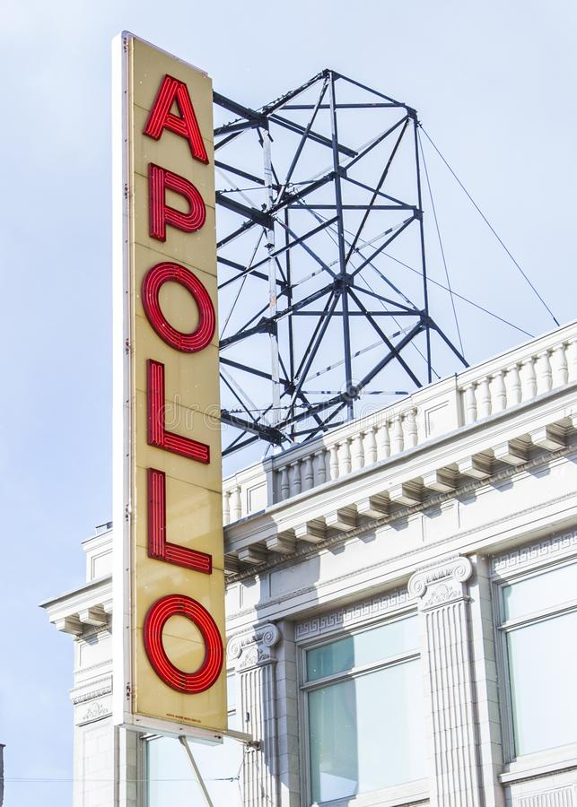 Apollo theater Harlem royalty free stock image