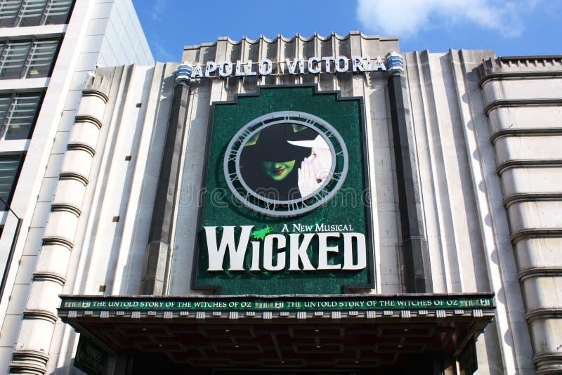 apollo theatre victoria royaltyfri foto