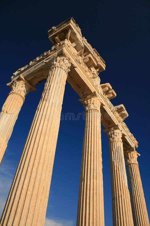 Download Apollon Temple stock photo. Image of culture, antalya - 12225782