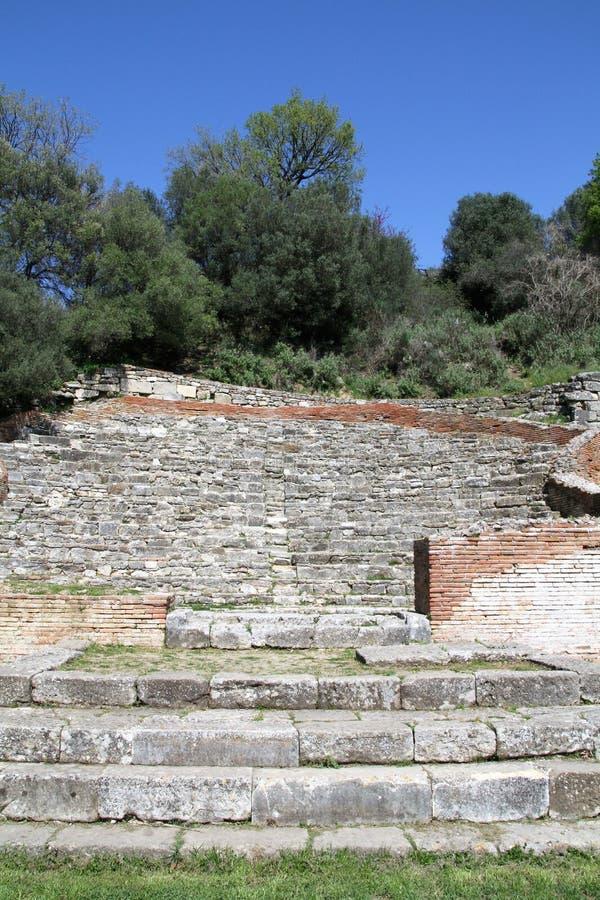 Apollonia - Albania royalty free stock photography
