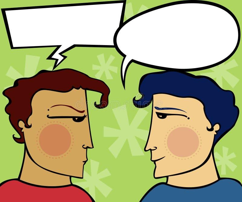 Apología expresa ilustración del vector