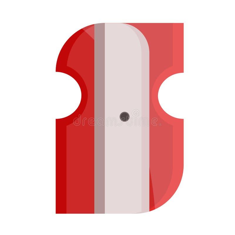 Apontador vermelho ilustração royalty free