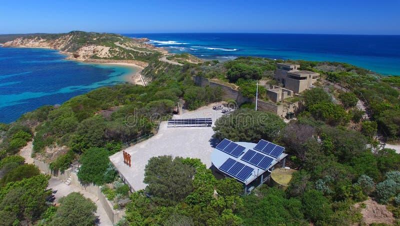 Aponte o parque de Nepean, opinião aérea de Victoria - de Austrália fotos de stock royalty free