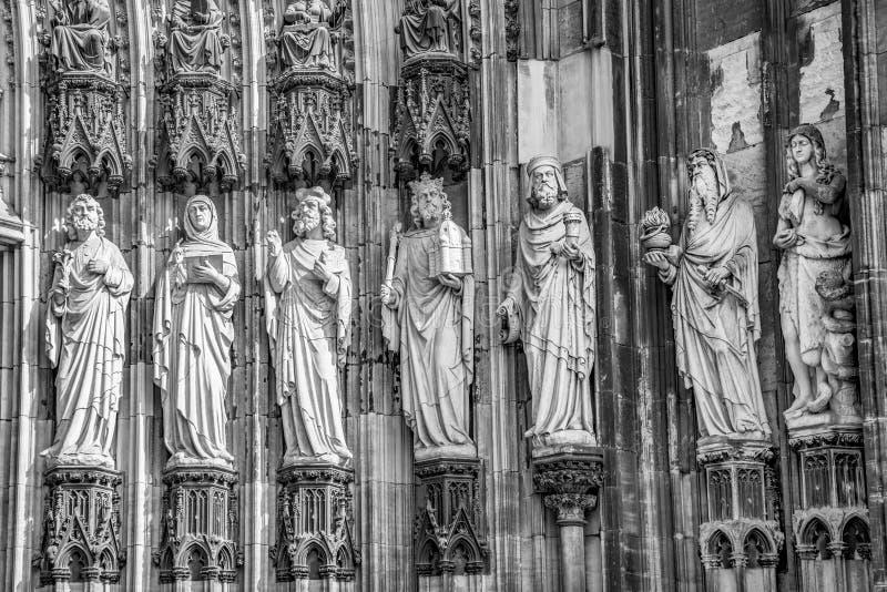 Apostel an der schönen Haube im Cologne lizenzfreie stockfotografie