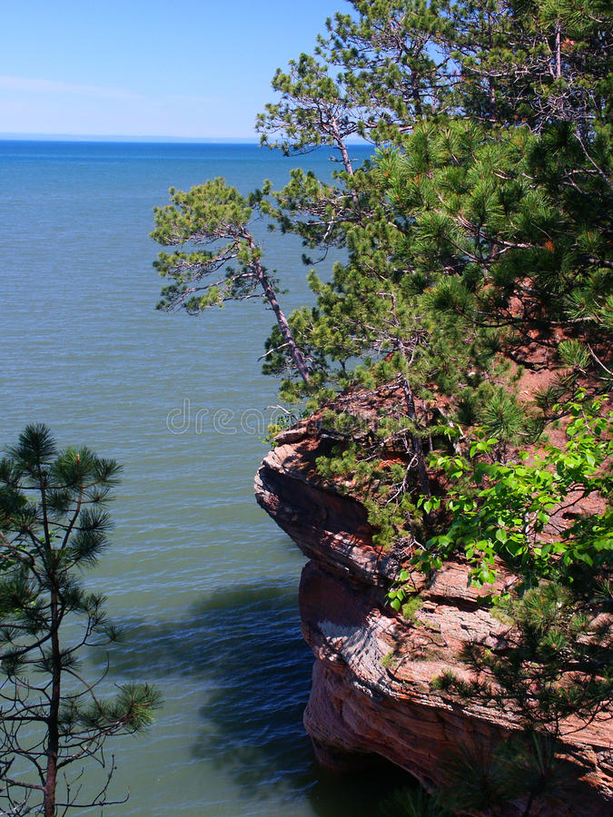 Apostel-Inseln - Wisconsin lizenzfreies stockbild