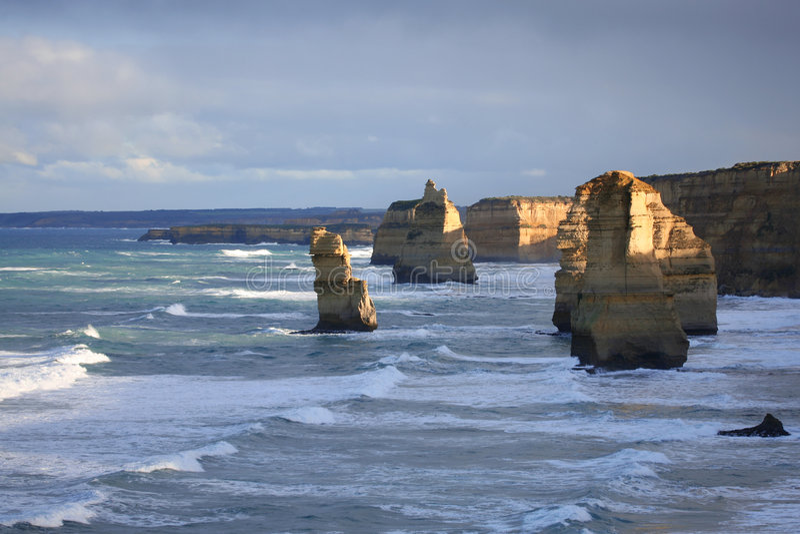 apostlar Australien tolv arkivbilder