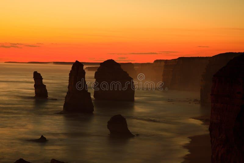 apostlar tolv arkivfoto