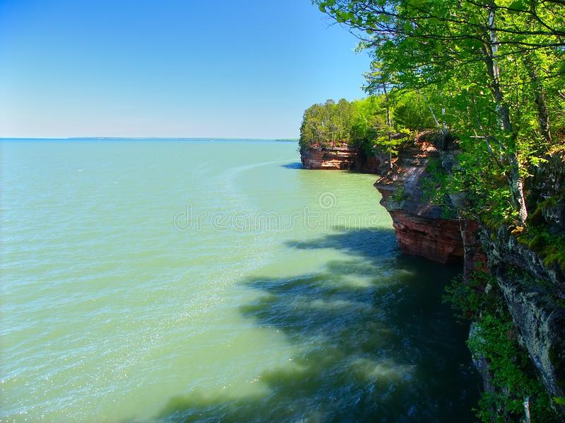 Apostle Islands - Wisconsin royalty free stock images