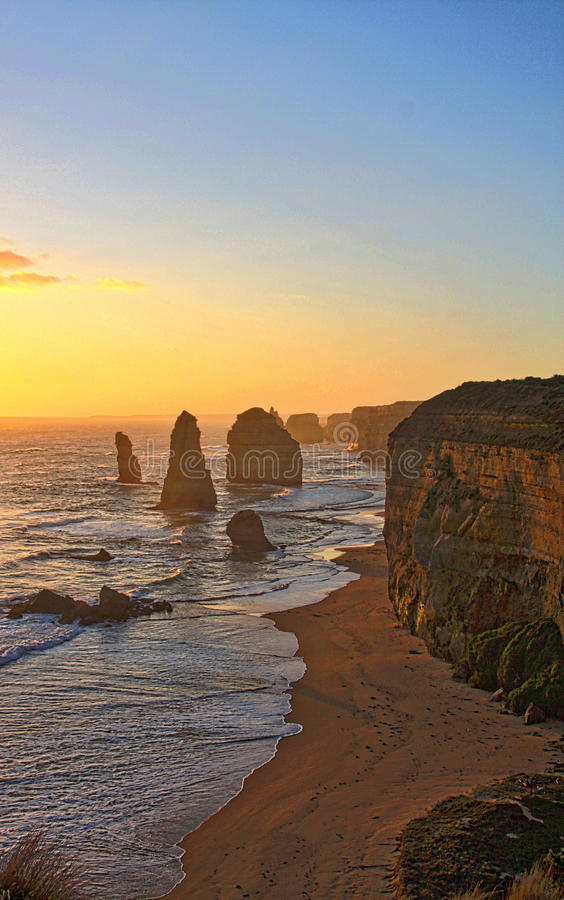 12 Apostles Great Ocean Road Australia royalty free stock photo