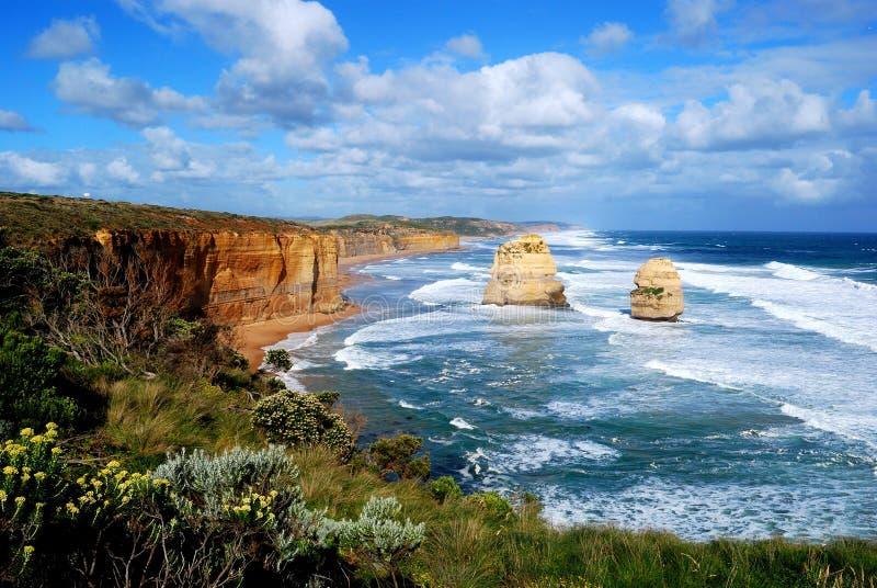 apostołów wielka oceanu droga dwanaście zdjęcia royalty free