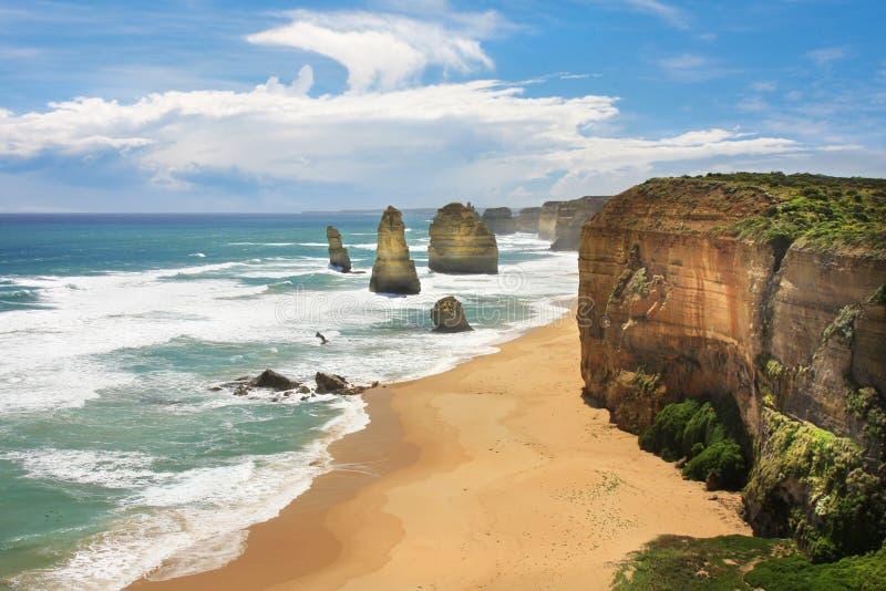 12 apostoła Australia obraz stock