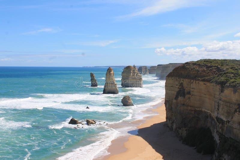 Apostoli di Twelves, grande strada dell'oceano, Victoria Australia immagine stock libera da diritti
