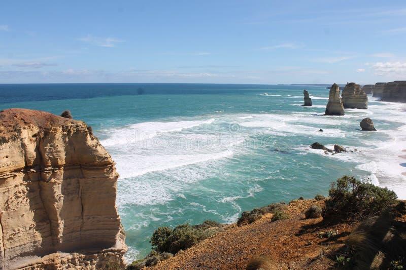Apostoli di Twelves, grande strada dell'oceano, Victoria Australia fotografia stock