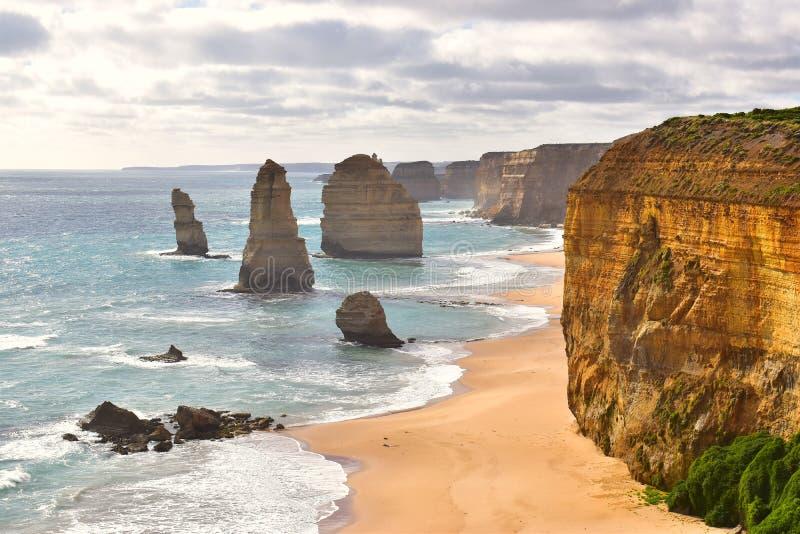 12 apostoli in Victoria, Australia fotografie stock