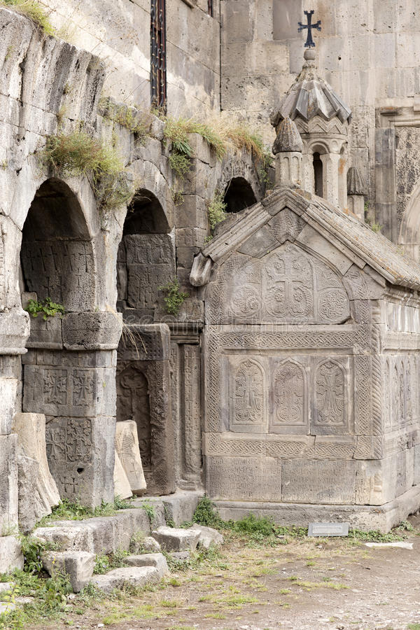 apostolic armenierkyrka Berglandskap, kloster royaltyfri foto