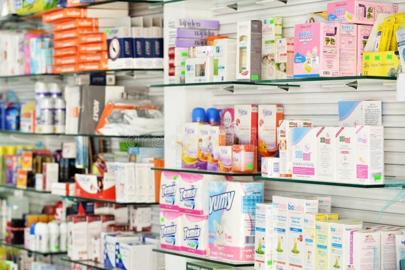 apotek arkivfoton