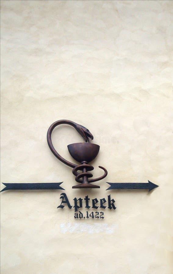 apotheek stock afbeelding