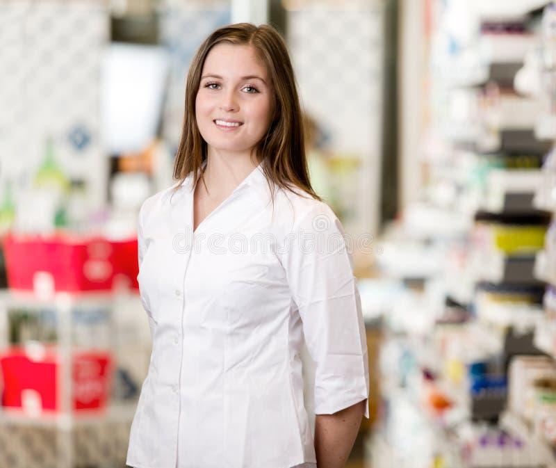 Apotheker Portrait stock foto's