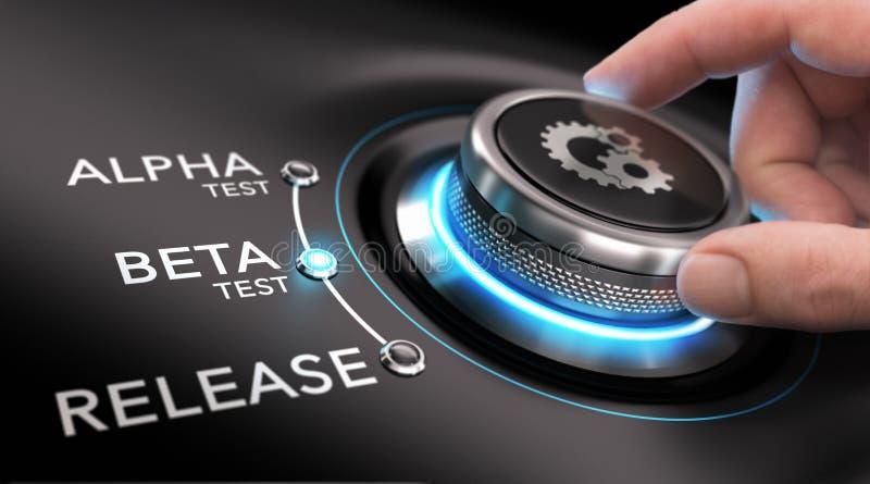 App或软件开发 向量例证