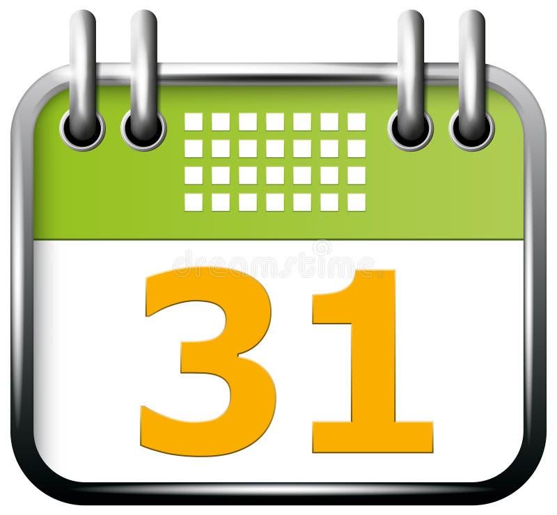 App ημερολόγιο εικονιδίων ελεύθερη απεικόνιση δικαιώματος