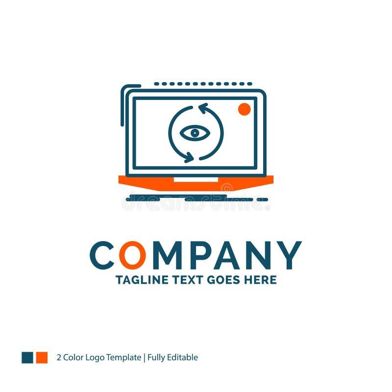 App applikation som är ny, programvara, uppdatering Logo Design Blått och eller stock illustrationer