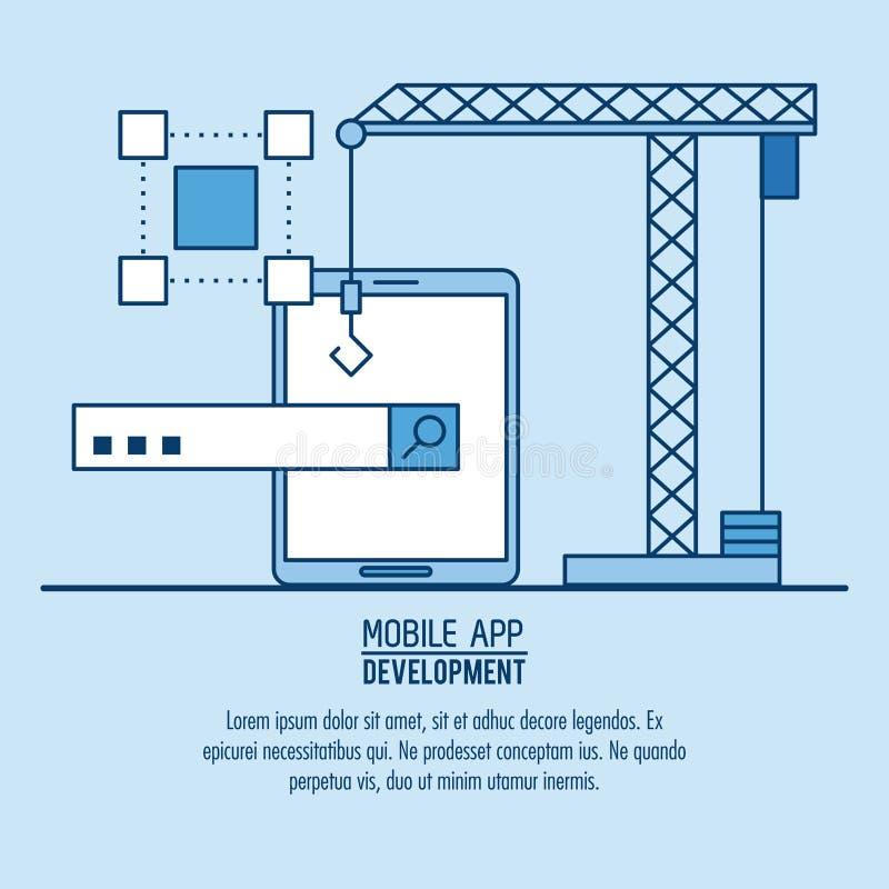 App móvil infographic libre illustration