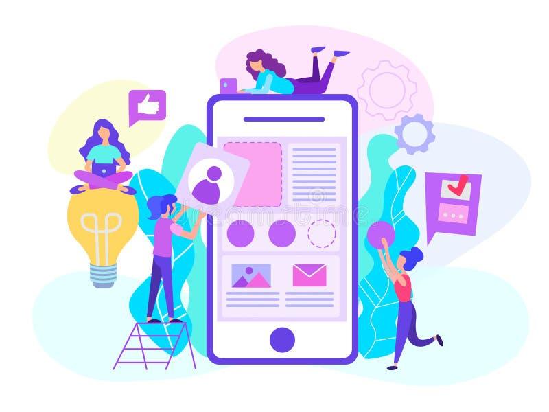 Concetto di sviluppo di applicazioni per l 39 e business for Siti mobili online