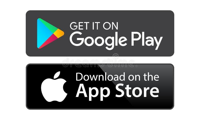 App store de jeu de Google illustration libre de droits