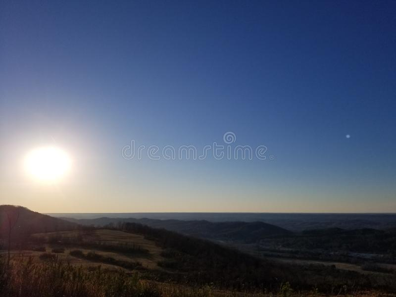 Appalache Trace Mountains images stock