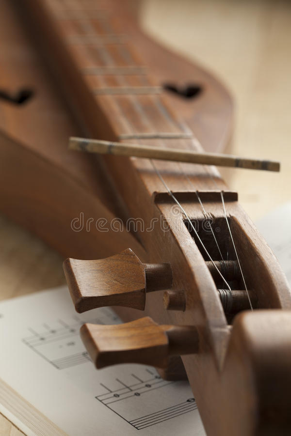 Free Appalachian Dulcimer Close Up Royalty Free Stock Photos - 73954248