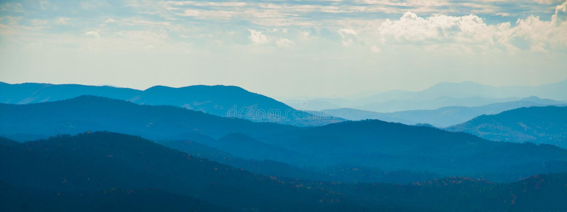 Appalachian Mountain Glory royalty free stock image