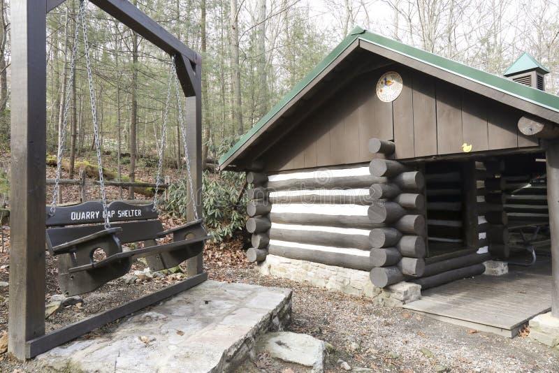 Appalachian slingaskydd i Pennsylvania arkivfoton