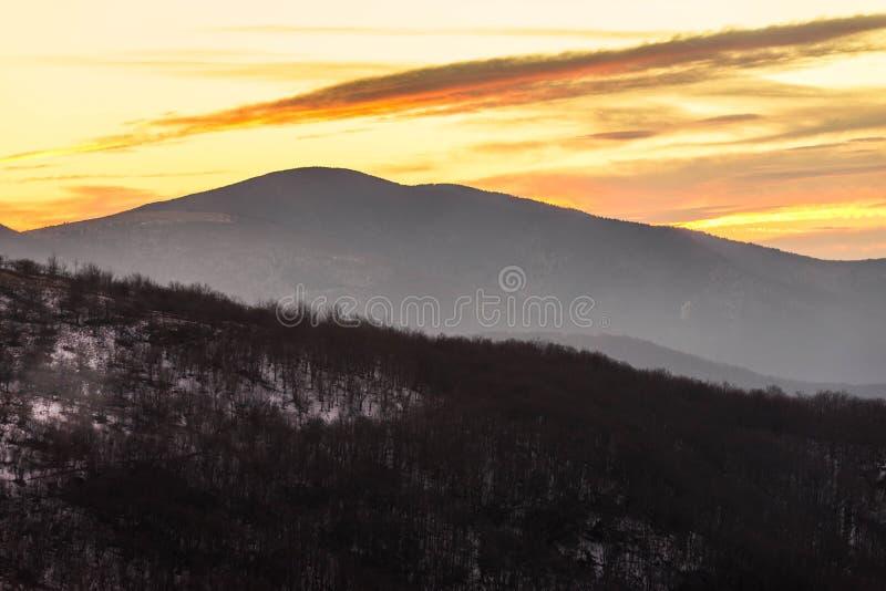 Appalachian Trail Sunset 5 royalty free stock photography
