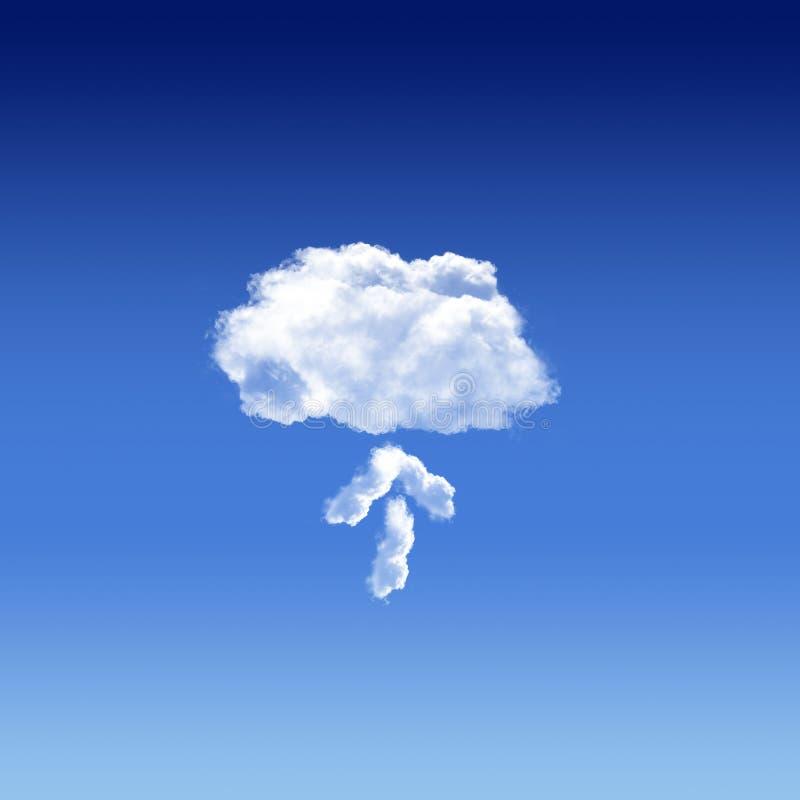 Appanni il concetto digitale di calcolo dell'innovazione nel cielo royalty illustrazione gratis
