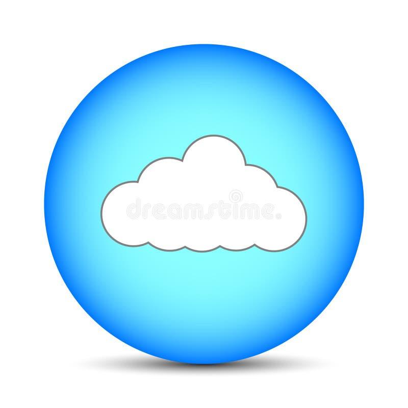 Appanni in sfera magica isolata su fondo bianco Illustrazione per la vostra progettazione, gioco, carta di vettore illustrazione di stock