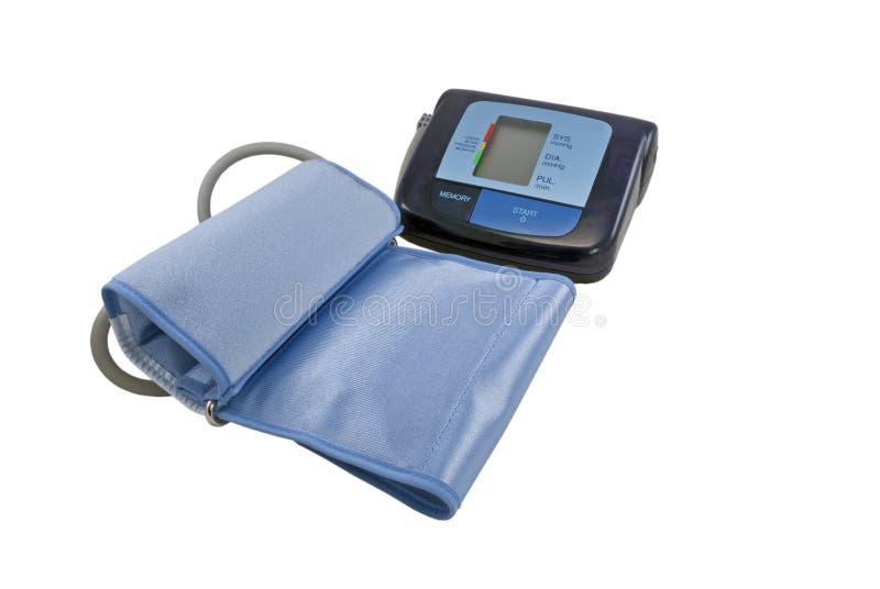 Apparaat dat bloeddruk meet stock afbeelding